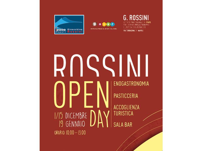 Open Day 1/15 Dicembre 2018 - 19 Gennaio 2019